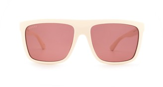 Gucci Flat-Top Sunglasses