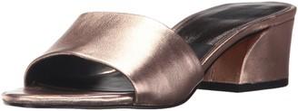Dolce Vita Women's Rilee Slide Sandal Rose Gold Leather 9.5 Medium US