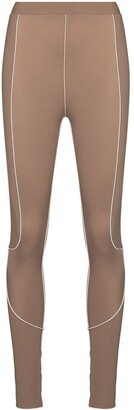 Fantabody Topstitch-Detail Performance Leggings