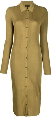 Rag & Bone Fitted Chevron Knit Dress