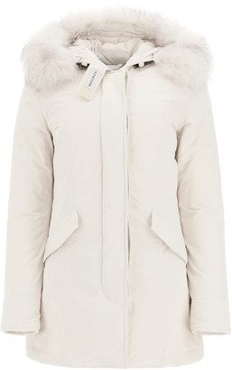 Woolrich Luxury Arctic Parka With Fox Fur