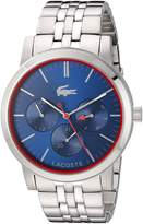 Lacoste Women's 'Metro' Quartz Automatic Watch, Color: Silver-Toned (Model: 2010878)