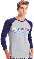 Peter Alexander peteralexander Mens Let It Snow Raglan Top