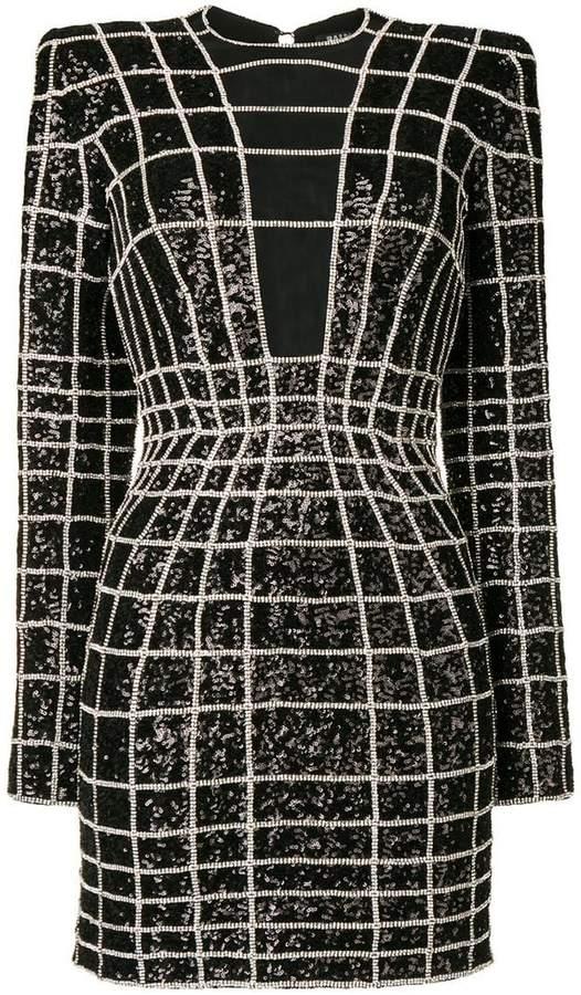 82d3570c Balmain Sheer Dresses - ShopStyle