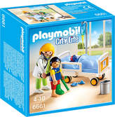 Playmobil City Life Children's Hospital Doctor with Child