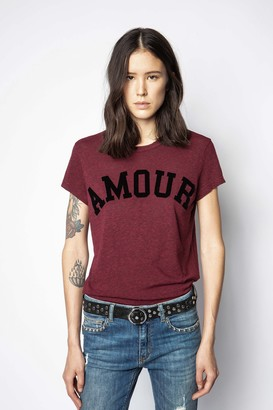 Zadig & Voltaire Walk Amour Overdyed T-shirt