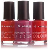 Korres Nail Color Trio - The Brights