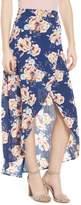 Mimichica Mimi Chica Floral Print Maxi Skirt