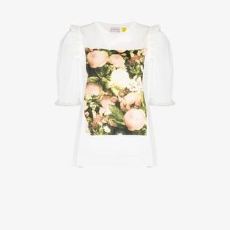 MONCLER GENIUS 4 Moncler Simone Rocha floral T-shirt