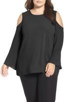 Vince Camuto Plus Size Women's Cold Shoulder Blouse