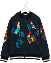 Dolce & Gabbana Rumba zipped jacket - kids - Cotton - 3 yrs