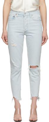 AGOLDE Blue Jamie Hi Rise Classic Jeans