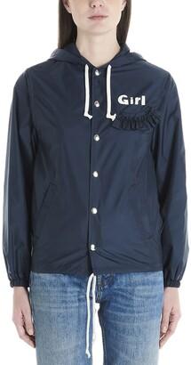Comme des Garcons Logo Hooded Jacket