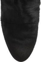 Isabel Marant Shelia calf hair and suede knee boots
