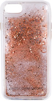Rebecca Minkoff glitter iPhone 7 case - women - Polycarbonite - One Size