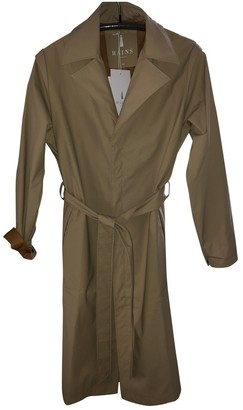 Rains Beige Trench Coat for Women