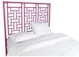 David Francis Furniture Ohana Open-Frame Headboard Color: Hot Pink, Size: King