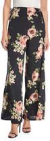 Band of Gypsies Floral-Print Wide-Leg Pants
