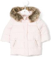 Tartine et Chocolat hooded padded coat