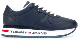 Tommy Jeans lace-up low top sneakers