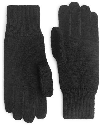 Arket Raw Wool Gloves