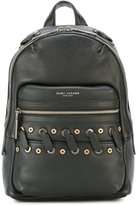 Marc Jacobs woven detail backpack - women - Calf Leather/Metal (Other) - One Size