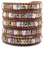 Chan Luu Pink Mix Wrap Bracelet