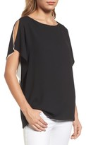 Anne Klein Women's Slit Sleeve Blouse