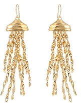 Aurelie Bidermann Theia gold-plated earrings