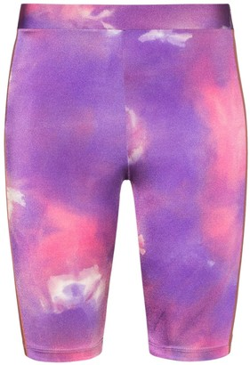 Fantabody Tie-Dye Cycling Shorts
