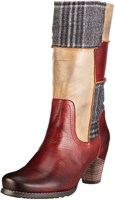 Manitu Womens 970704 Cold Lined Long Boots Red Size: 3.5