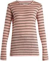 Etoile Isabel Marant Aaron striped linen-blend T-shirt