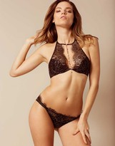 Agent Provocateur Gayle Brief Black And Gold