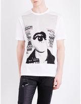 Junya Watanabe Falszywe Banknoty Eye-print Cotton T-shirt