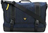 Armani Jeans - canvas messenger bag