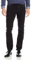 Calvin Klein Jeans Men's Powder Black Skinny Jean, 36x32