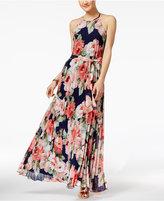 B. Darlin Juniors' Pleated Maxi Dress