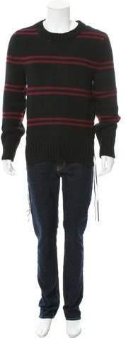Amiri Double Stripe Cashmere Sweater w/ Tags