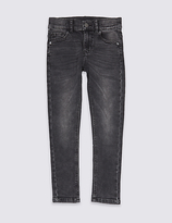 Marks and Spencer Cotton Rich Skinny Fit Jeans (3-14 Years)