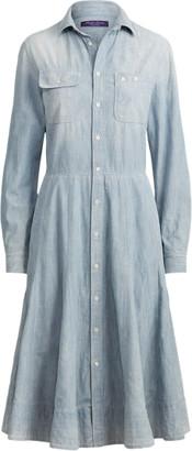 Ralph Lauren Cailyn Chambray Shirtdress