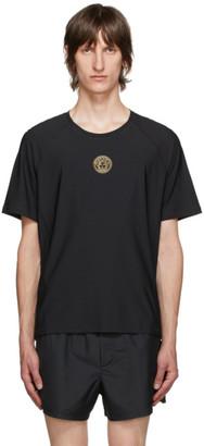 Versace Underwear Black Technical Medusa T-Shirt