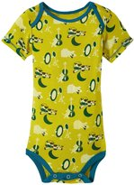 Kickee Pants Print One Piece (Baby) - Citronella Hey Diddle - 3-6 Months