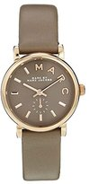 Marc by Marc Jacobs Marc By Marc Women's Baker MBM1318 Brown Leather Swiss Quartz Watch with Brown Dial