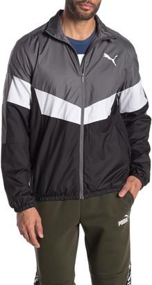 Puma Colorblock Windbreaker Jacket