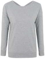 George Cross Back Sweatshirt