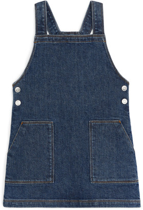 Arket Denim Apron Dress
