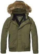 Tommy Hilfiger Th Kids Fur-Lined Bomber Jacket