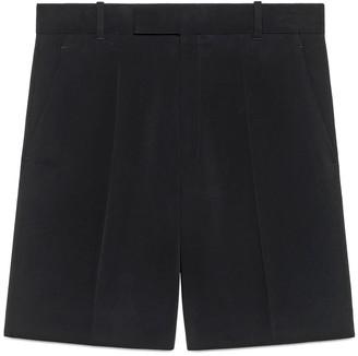 Gucci Cady viscose tailored shorts