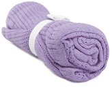Raylans 100% Cotton Baby Infant Cellular Soft Blanket Pram Cot Bed Mosses Basket Crib