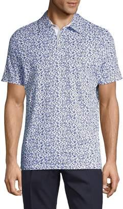 Calvin Klein Printed Cotton Polo